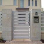 Aluminium Slat Fence 1
