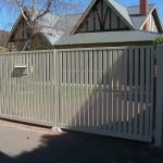 Aluminium Slat Fence 11