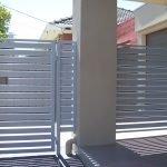 Aluminium Slat Fence 16