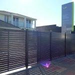 Aluminium Slat Fence 17