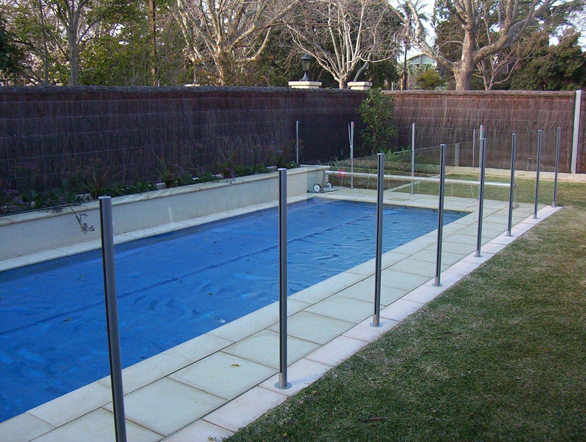 Semi Frameless Glass Pool Fences Adelaide Balustrade