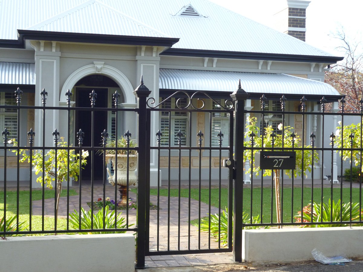 Front Fences And Gates Modern And Traditional Adelaide